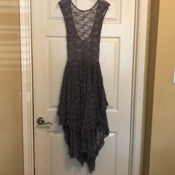 91c424b87731 Free People Dresses | French Courtship Slip Greypurple | Poshmark